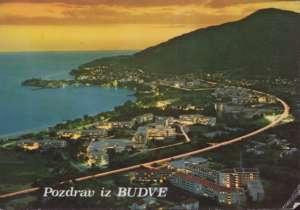 Budva - Pozdrav iz Budve Ex Jugoslavija
