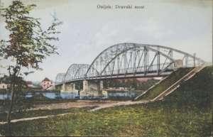 Osijek - dravski most Dopisnice