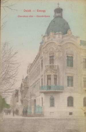 Dopisnice - Chovrakova ulica