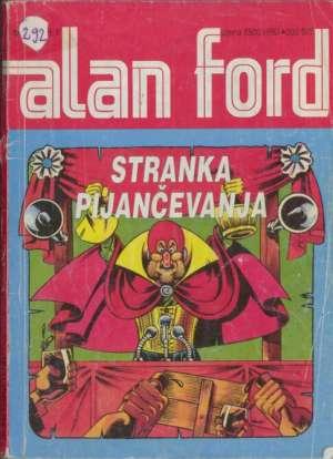 Stranka pijančevanja  br 15 Alan Ford meki uvez