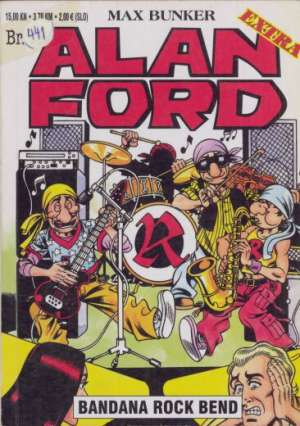 Alan Ford Extra Br .18 - Bandana rock bend
