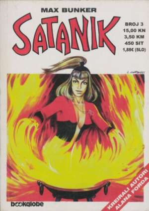 Žudnja za slavom Satanik tvrdi uvez