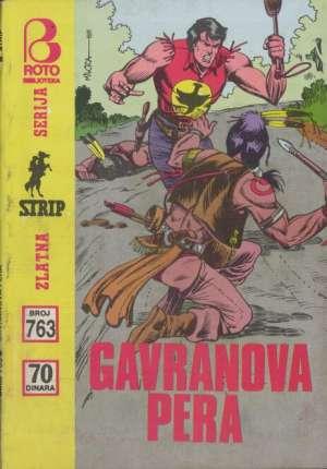 Gavranova pera br 763 Zagor meki uvez