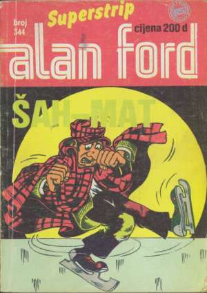 Alan Ford Superstrip - šah-mat br 344