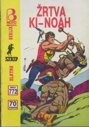 Žrtva Ki-noah br 772 Zagor meki uvez