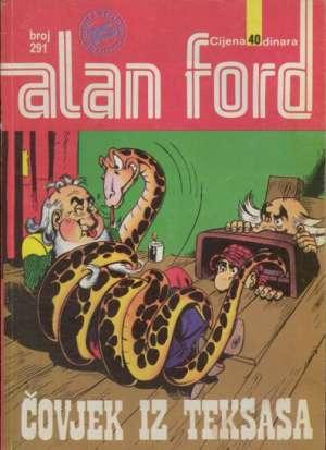Čovjek iz Teksasa Alan Ford Br 291 meki uvez
