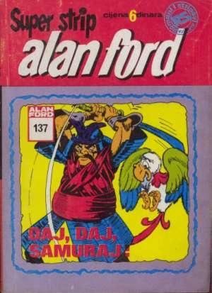 Alan Ford Superstrip - Daj, daj, samuraj br 137
