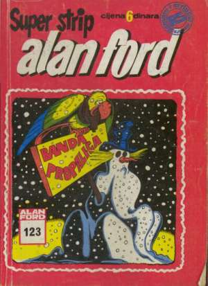 Alan Ford Superstrip Br. 123 - Banda propalica