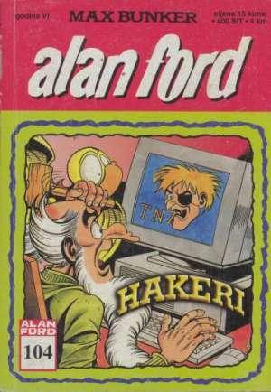 Alan Ford - Hakeri br 104