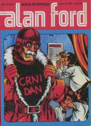 Crni dani br 22 Alan Ford meki uvez