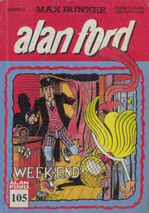 Alan Ford - Week-end br 105