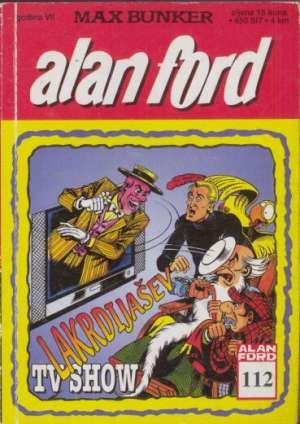 Alan Ford - Lakrdijašev TV show br 112