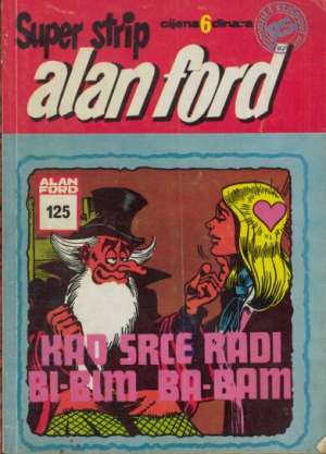 Alan Ford Superstrip - Kad srce rad bi-bim ba-bam br 125