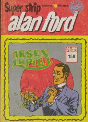 Alan Ford Superstrip Br 158 - Arsen Lupiga