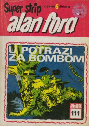 Alan Ford Superstrip - U potrazi za bombom br 111