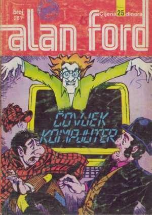 Čovjek kompjuter Alan Ford Br 281 meki uvez
