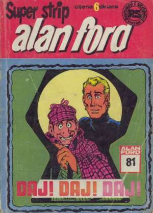 Alan Ford Superstrip - Daj! Daj! Daj! br 81 - drugo izdanje