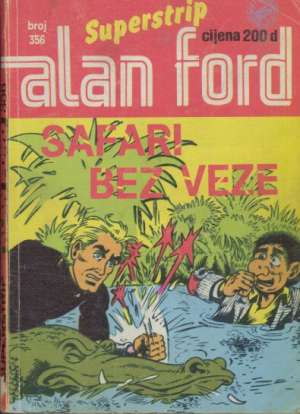 Alan Ford Superstrip - Safari bez veze br 356