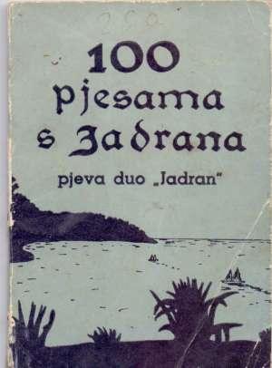 - 100 pjesama s jadrana pjeva dou Jadran