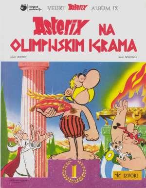 Asterix 9: Asterix na Olimpijskim igrama Goscinny / Uderzo tvrdi uvez