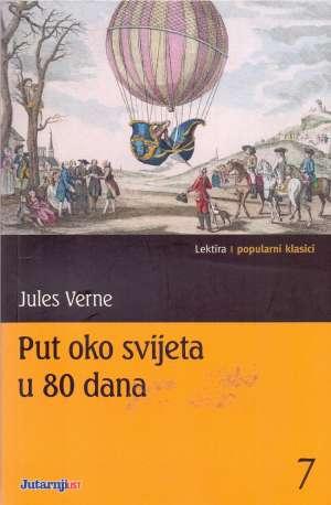 Put oko svijeta u 80 dana Verne Jules meki uvez