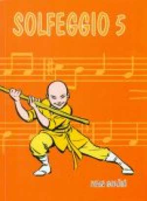 Solfeggio 5 - udžbenik za 5. razred solfeggia za osnovne škole Ivan Golčić meki uvez