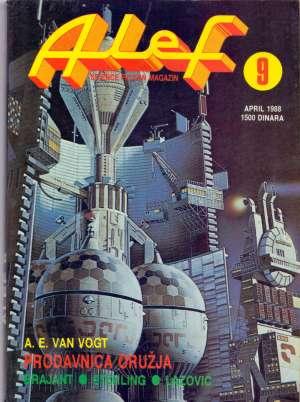 Van Gogt A. E., Brajant, Sterling, Lazović -Alef - Science Fiction Magazin - Broj 9 - Prodavaonica Oružja meki uvez