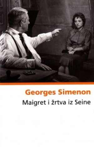 Maigret i žrtva iz seine Simenon Georges tvrdi uvez