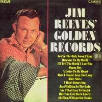 Gramofonska ploča Jim Reeves Jim Reeves Golden Records CDS 1145, stanje ploče je 7/10