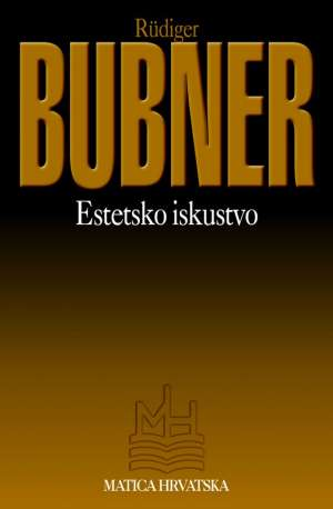 Rudiger Bubner - Estetsko iskustvo
