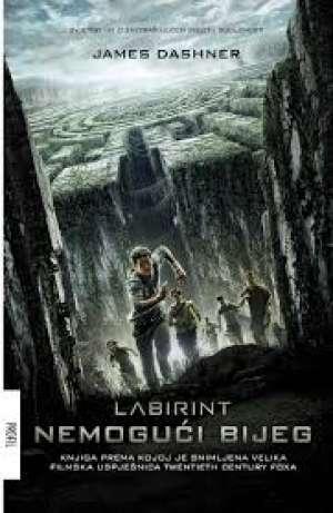 Labirint nemogući bijeg Dashner James meki uvez