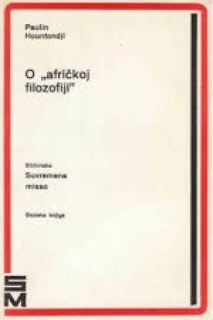 Paulin Hountondji - O afričkoj filozofiji
