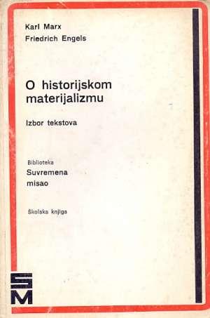 O historijskom materijaizmu Karl Marx, Friedrich Engels meki uvez