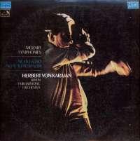 Gramofonska ploča Mozart / Herbert Von Karajan / Berlin Philharmonic Orchestra Mozart Symphonies No. 40 K.550 No. 41 Jupiter K.551 LSHMV 70562, stanje ploče je 10/10