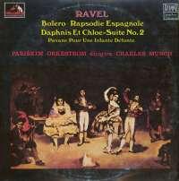Gramofonska ploča Ch. Munch / Ravel Bolero / Daphins Et Chloe -- Suite No. 2 / Pavane Pour Une Infante Defunte LPSV-HMV-426, stanje ploče je 9/10