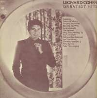 Gramofonska ploča Leonard Cohen Greatest Hits CBS 69161, stanje ploče je 9/10