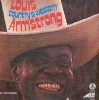 Gramofonska ploča Louis Armstrong Louis Country & Western Armstrong LP 5526, stanje ploče je 10/10