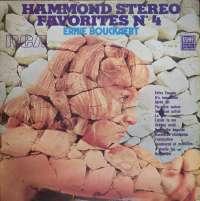Gramofonska ploča Ernie Bouckaert Hammond Stereo Favorites N°4 LSRCA 70513, stanje ploče je 9/10