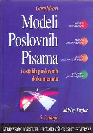 Shirley Taylor - Gartsideovi modeli poslovnih pisama i ostalih poslovnih dokumenata - 5. izdanje