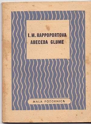 I. M. Rappoportova - Abeceda glume