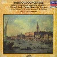 Academy Of Saint Martin-In-The-Fields / Neville Marriner - Baroque Concertos - Albinoni, Handel, Avison, Manfrendini, Telemann (Barokni Koncerti) - LSDC 73161