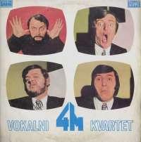 Gramofonska ploča 4M Vokalni 4M Kvartet LSY 60921, stanje ploče je 8/10