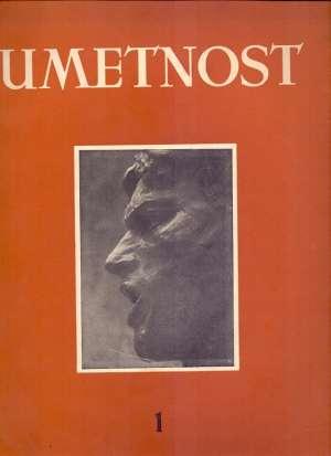 Umetnost - časopis za likovnu umetnost 1/ 1949 S.a. meki uvez