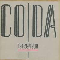 Gramofonska ploča Led Zeppelin Coda ATL 9051, stanje ploče je 9/10