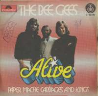 Alive / Paper Mache, Cabbages & Kings Bee Gees D uvez