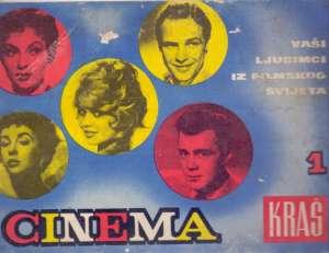 Cinema - vaši ljubimci iz filmskog svijeta - album sličica meki uvez