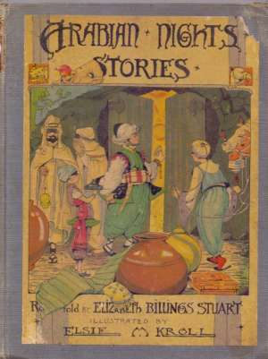 Arabian night stories Elizabeth Billings Stuart Prepričala tvrdi uvez