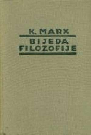 Karl Marx - Bijeda filozofije