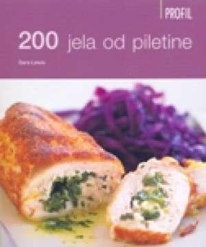 200 jela od piletine Sara Lewis meki uvez