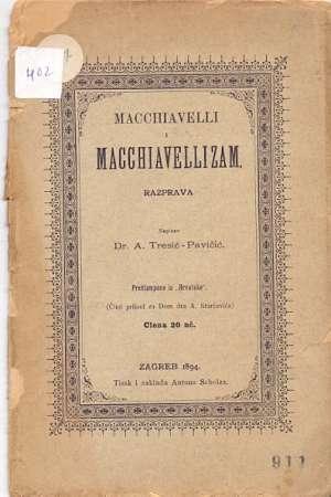 A. Tresić Pavičić - Macchiavelli i macchiavellizam